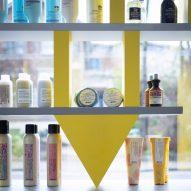 DKUK hair salon by Sam Jacob Studio