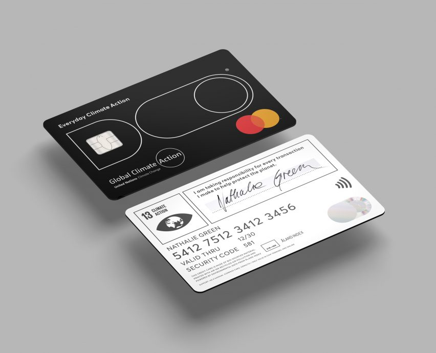 Doconomy climate change credit card