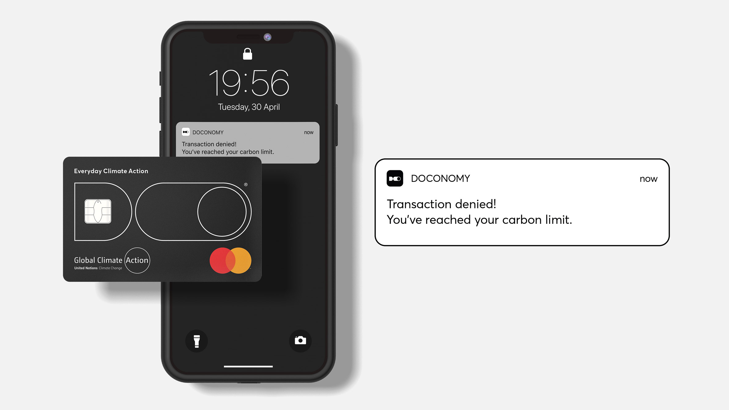 Doconomy launches credit card with a carbon-emission