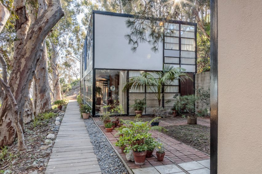 Eames house preservation plan