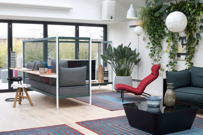 At Work office furniture by Established & Sons at Clerkenwell Design Week
