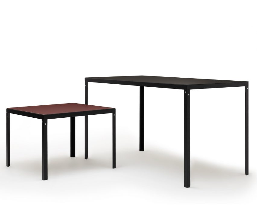 KT table by Konstantin Grcic for Established & Sons