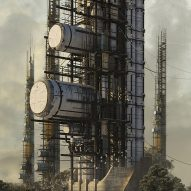 Vertical waste processor wins conceptual skyscraper contest