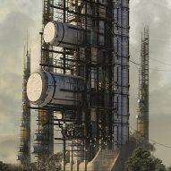 Vertical waste processor wins conceptual skyscraper contest