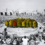 Klaus Littmann to plant 300 trees inside Wörthersee football stadium in Austria