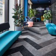 Forbo's Flotex Colour flooring is designed to enhance wellbeing in the workplace