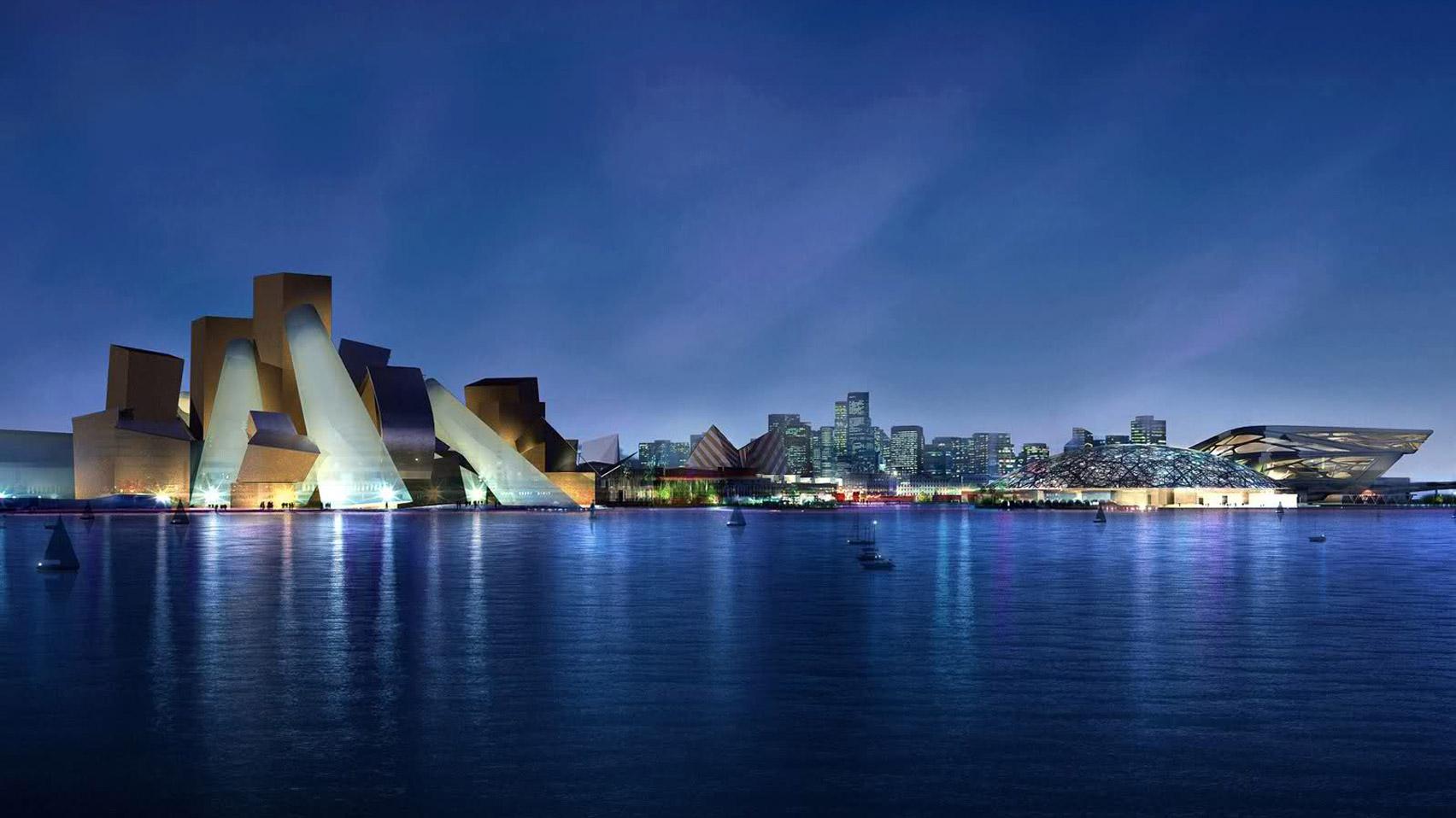 Guggenheim Abu Dhabi on Saadiyat Island