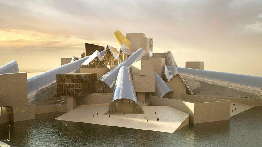 Guggenheim Abu Dhabi by Frank Gehry