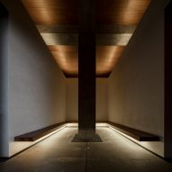 Hall of meditation by Hilarchitects