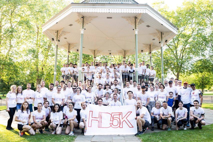 HD5K charity race by Hayes Davidson for the Motor Neurone Disease Association