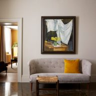 Ochre Room at Heckfield Place hotel by Ben Thompson