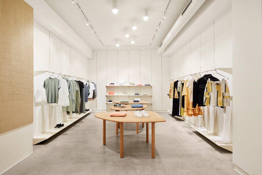 Holzweiler flagship store by Snøhetta