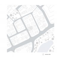 Site plan of House in Hokusetsu by Tato Architects