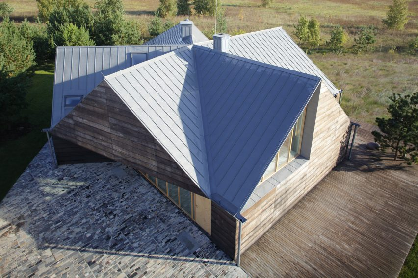 Lithuanian house in Radailiai by Implant Architecture