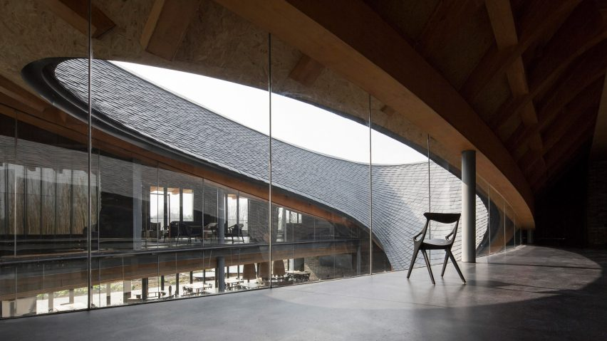 Inkstone House OCT Linpan Cultural Center by Archi-Union Architects