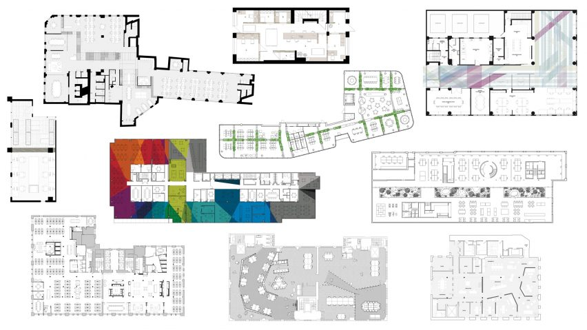 Office floor plans