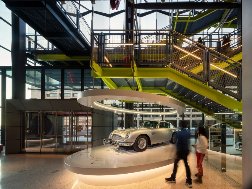 International Spy Museum by Rogers Stirk Harbour Partners