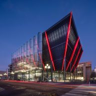 Rogers Stirk Harbour + Partners designs spy museum to stand out in Washington DC