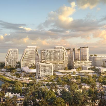 Karle Town Centre Masterplan by UNStudio