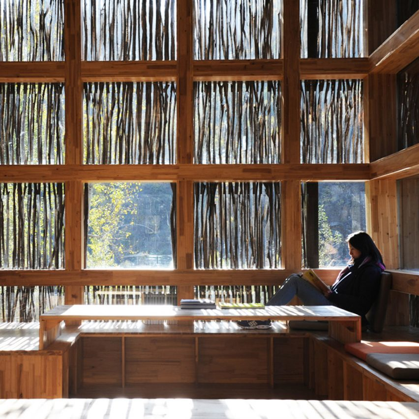 Dezeen best libraries roundup: Liyuan Library by Li Xiaodong
