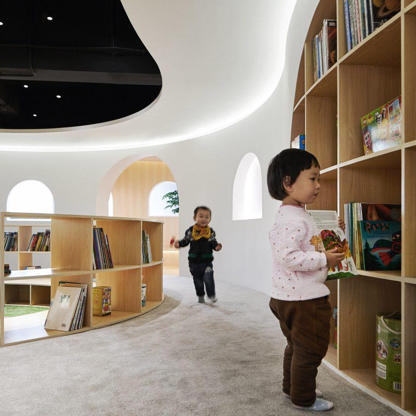 Dezeen best libraries roundup: Sissi's Wonderland by Muxin Studio
