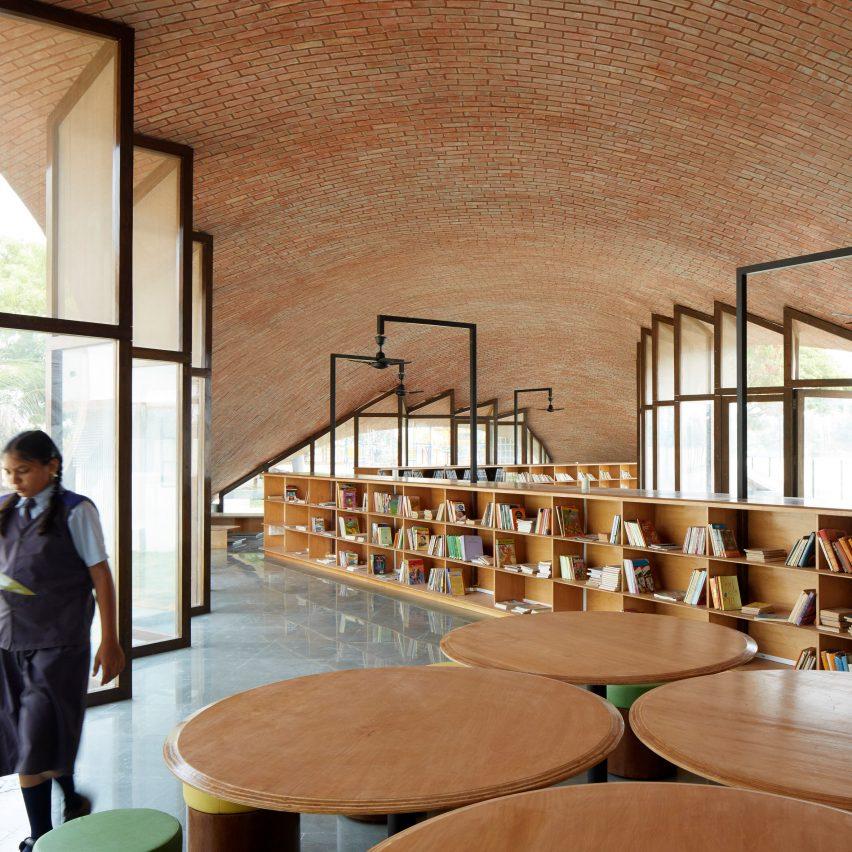 Dezeen best libraries roundup: Maya Somaiya Library by Sameep Padora