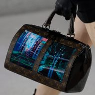 "Louis Vuitton premieres ""cutting-edge"" bags with flexible screens"