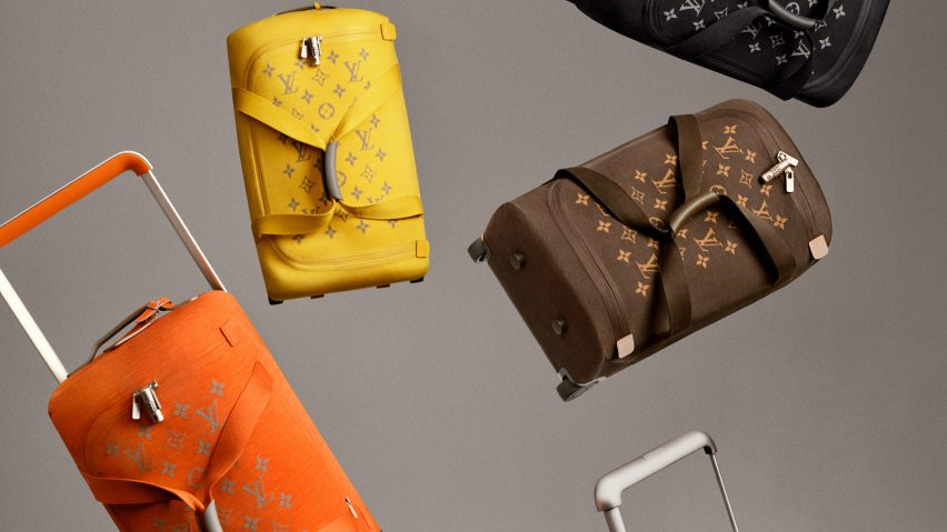 Louis Vuitton and Marc Newson launch soft luggage collection