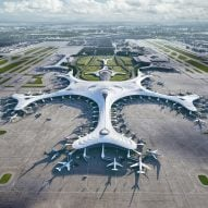 "MAD reveals ""snowflake"" design for China's Harbin Airport Terminal Three"
