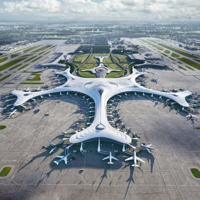 Harbin Airport Terminal Three by MAD
