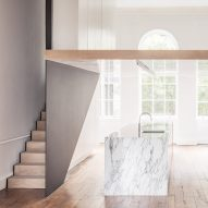 """Original and modern features """"quietly co-exist"""" inside London apartment"""