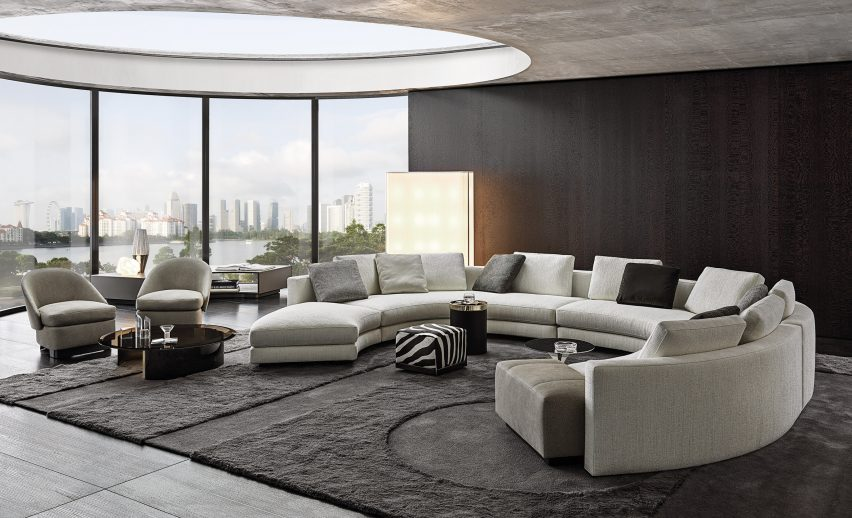 Watch our talk with about the past and future of Minotti