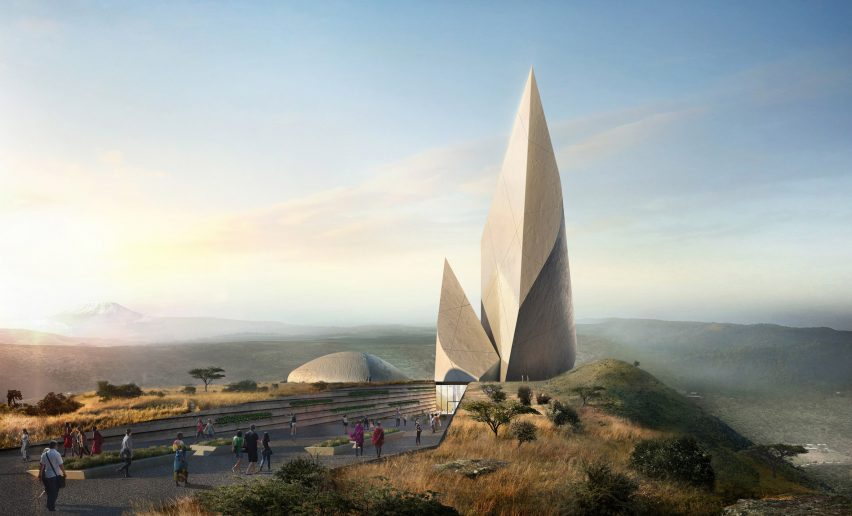 Studio Libeskind's Ngaren museum to track human evolution in