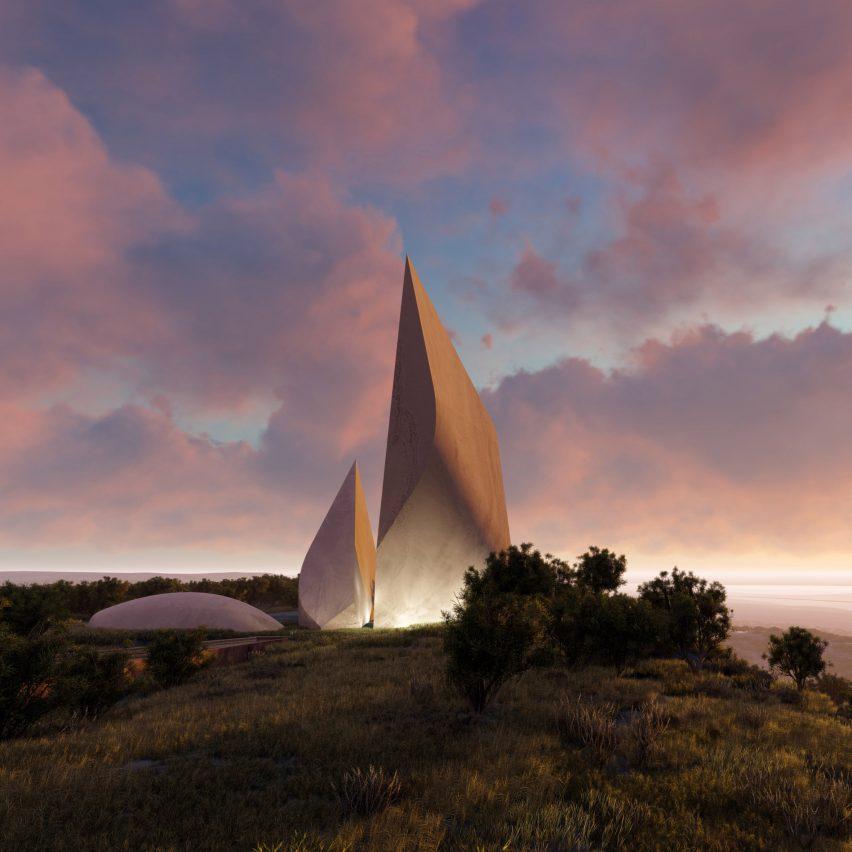 Studio Libeskind's Ngaren museum to track human evolution in Kenyan landscape