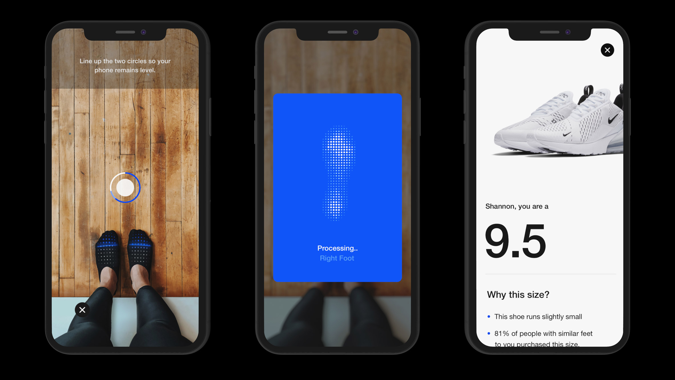 Nike Fit app uses AR and AI to scan feet for perfect fit