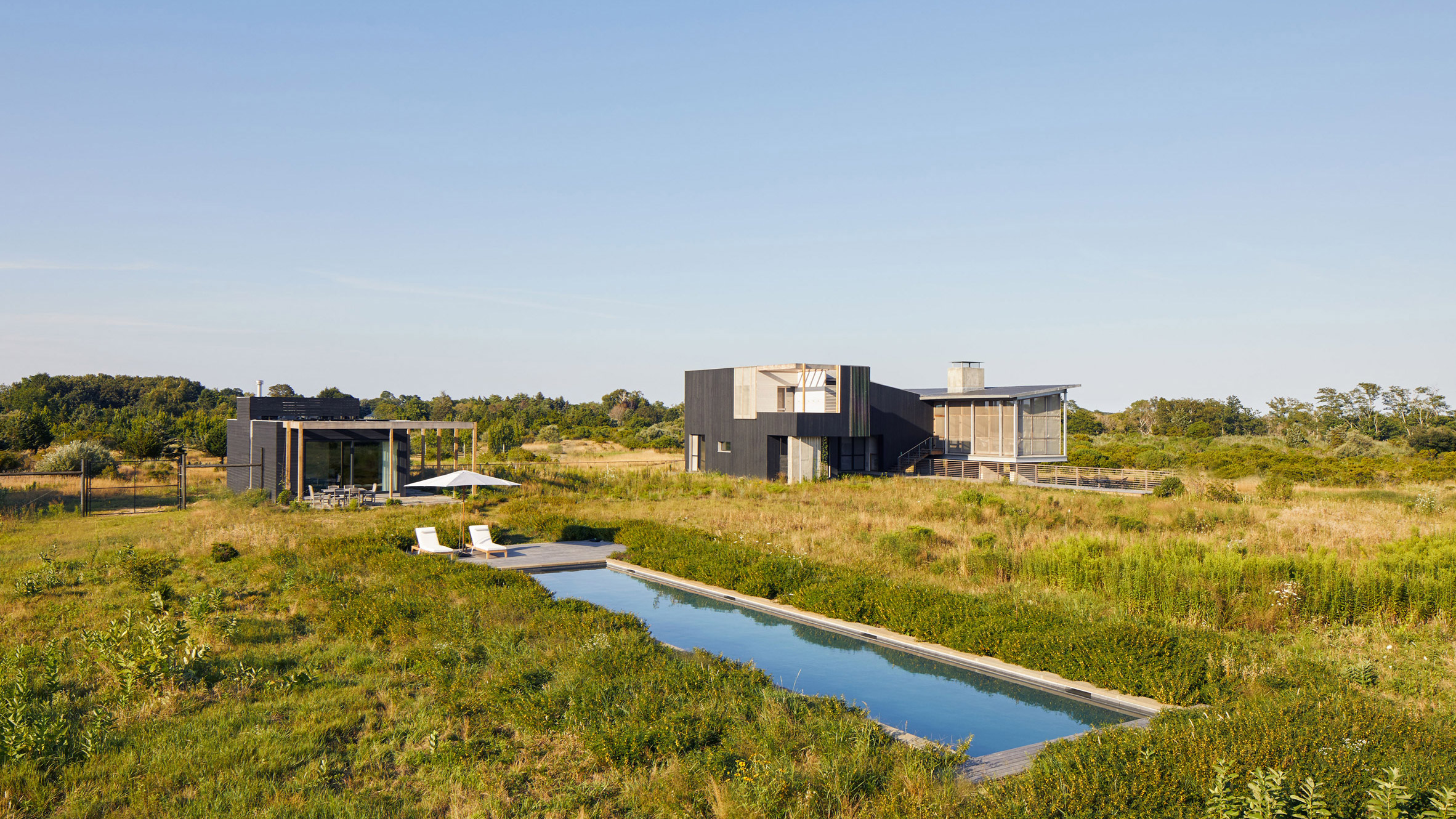 Wetlands House by Ryall Sheridan Architects
