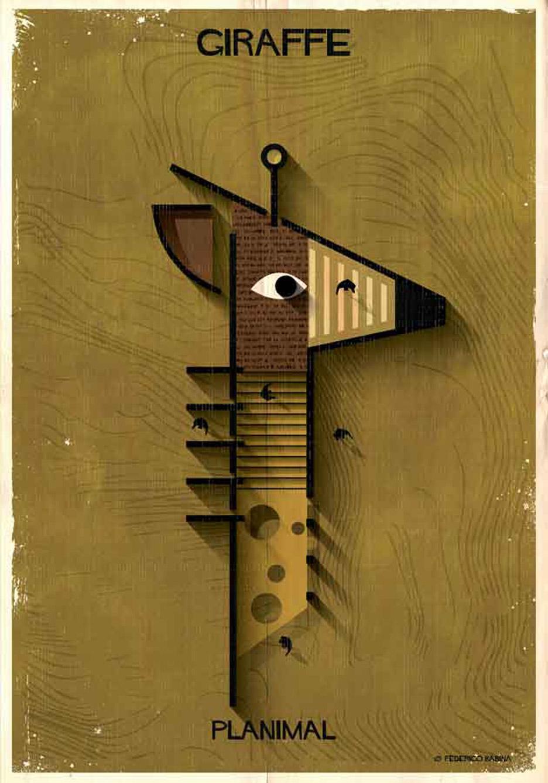Planimals by Federico Babina
