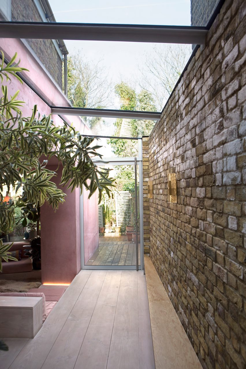 Pink concrete Ritson Road by Gresford Architects