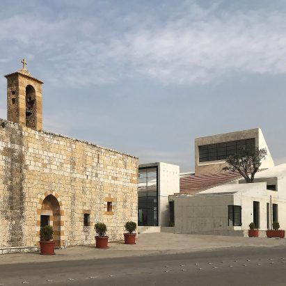 Saint-Charbel Church in Zakrit, Lebanon by Blankpage Architects