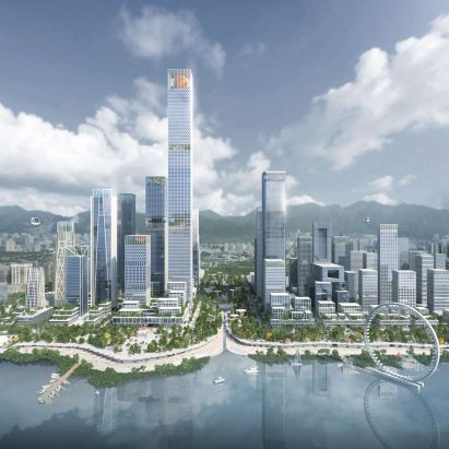 Shenzhen Bay Headquarters City by Henning Larsen