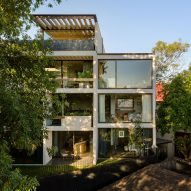 Taller Héctor Barroso designs Sierra Mimbres housing in Mexico City for three brothers