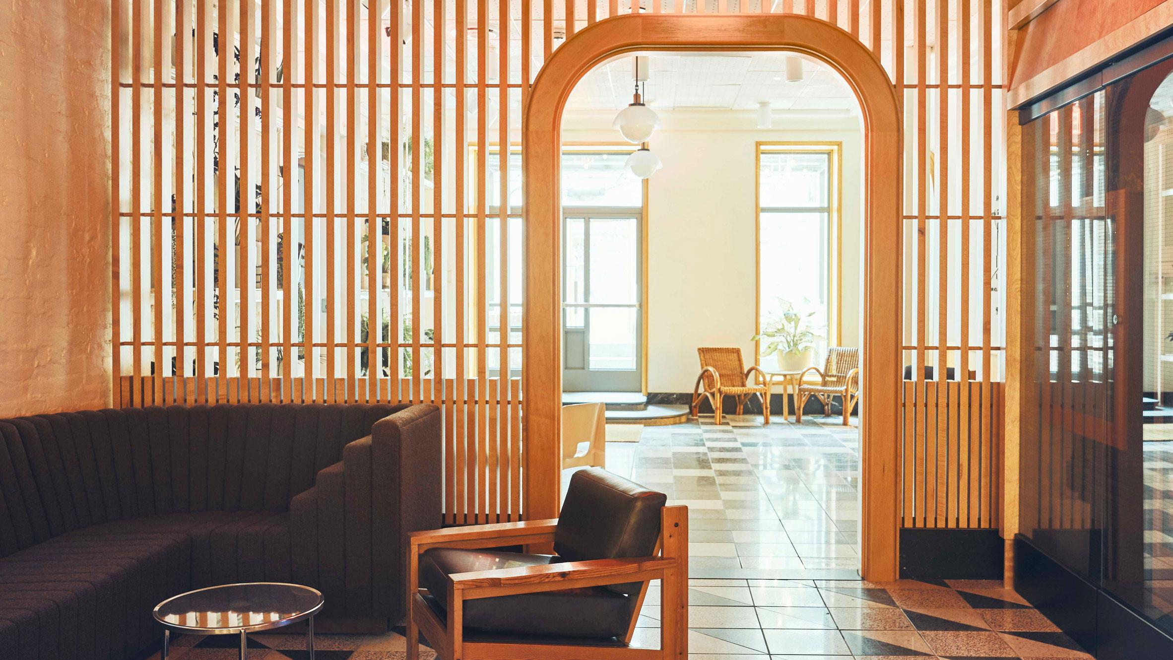 Atelier Ace Draws On Finnish Saunas For Manhattan S Sister City Hotel