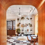 Atelier Ace draws on warmth of Finnish saunas for Manhattan's Sister City hotel