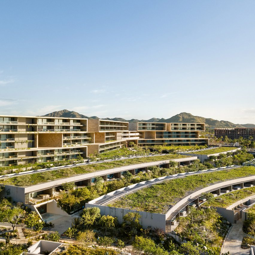 Sordo Madaleno completes Solaz Resort in Cabo with stacked blocks and cascading terraces