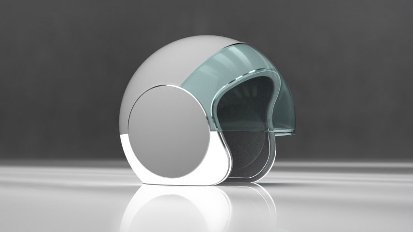 Sotera safety helmet by Joe Doucet
