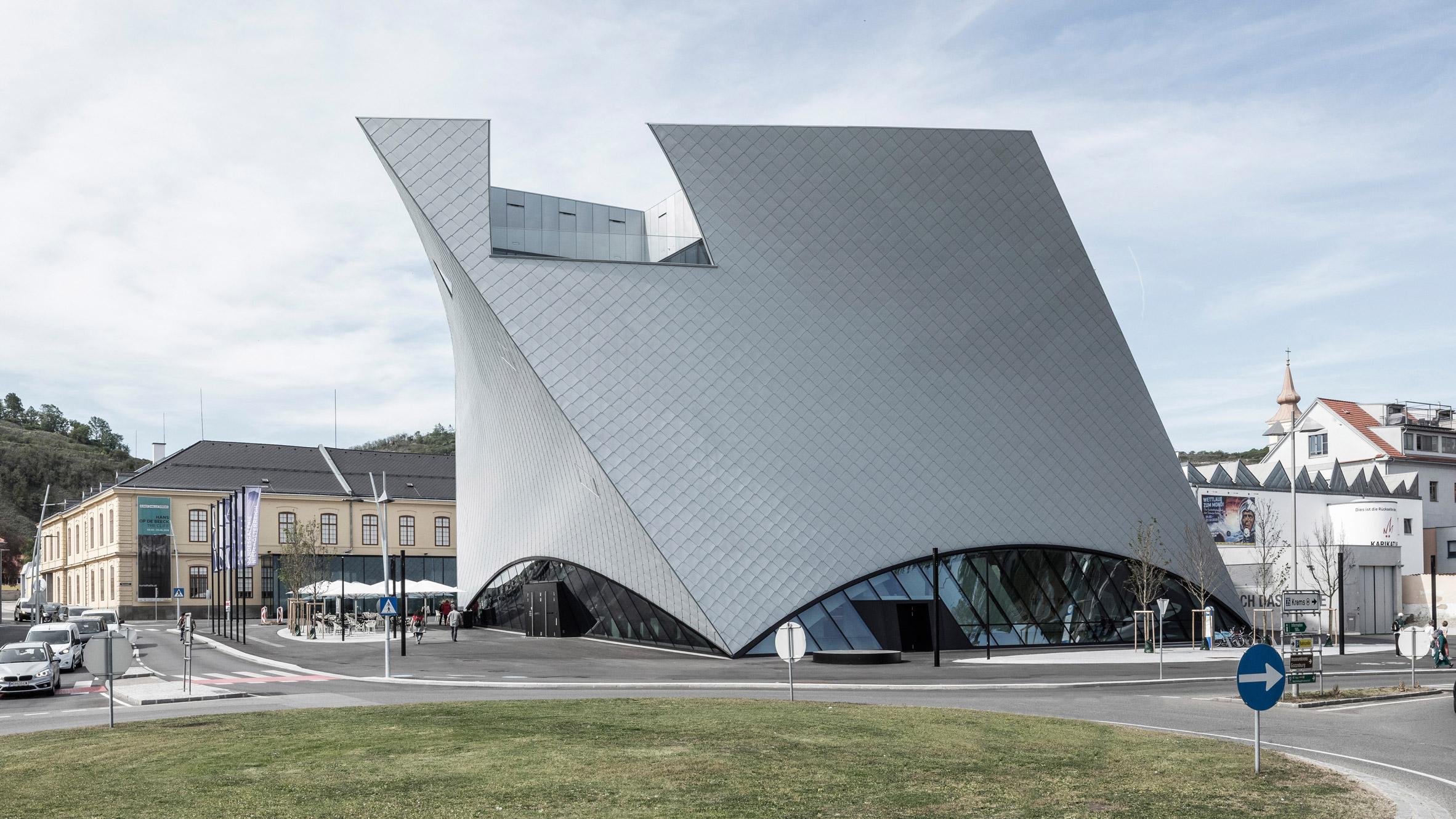 Marte Marte Architekten Completes State Gallery Of Lower Austria