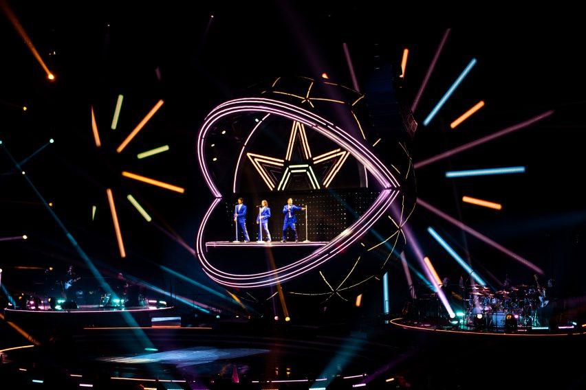 Take That tour set design