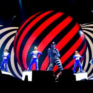 Take That's Greatest Hits tour features a 40-tonne digital sphere
