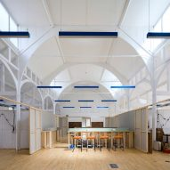 RCKa converts former church hall into colourful community centre