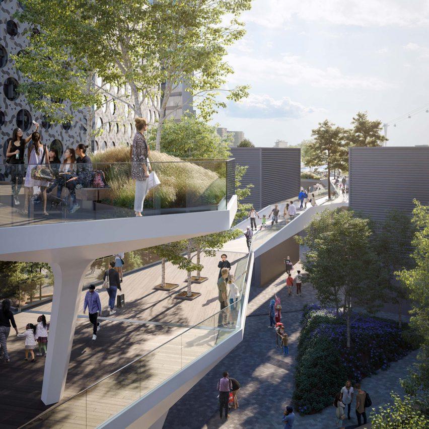 Diller Scofidio + Renfro creating new five-kilometre-long park in London's Greenwich